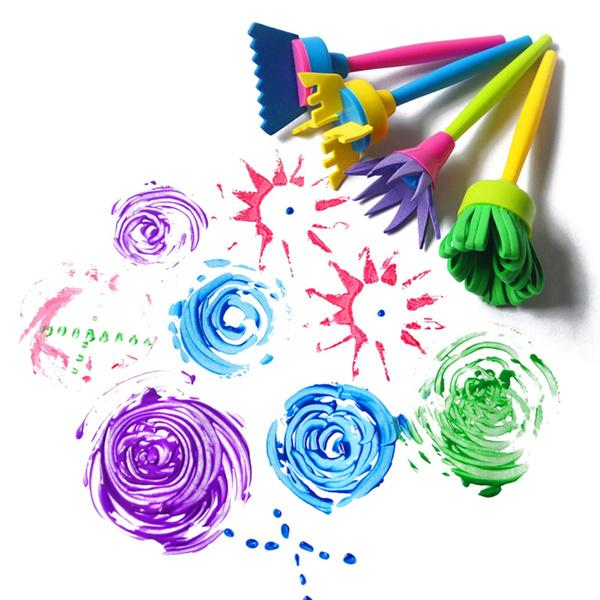 drawingtoysset, Toy, Art Supplies, spongebrushset