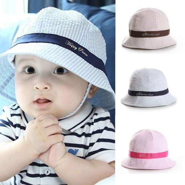 7adbf40489e Toddler Infant Sun Cap Summer Outdoor Baby Girl Hats Sun Beach ...