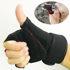 Sports Gym Gloves Half Finger Breathable Weightlifting Fitness Gloves Dumbbell Men Women Weight lifting Gym Gloves (Size M/L/XL)