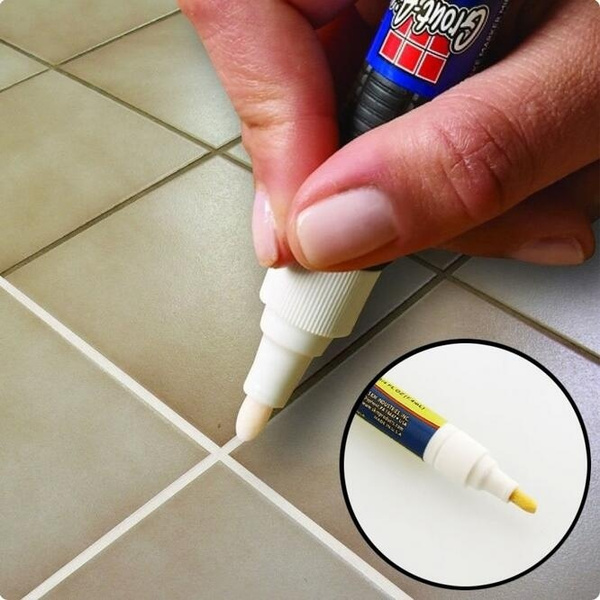 9  1. Wish   Ceramic Tile Reface Repair Pen Grout Aide Grout and Tile