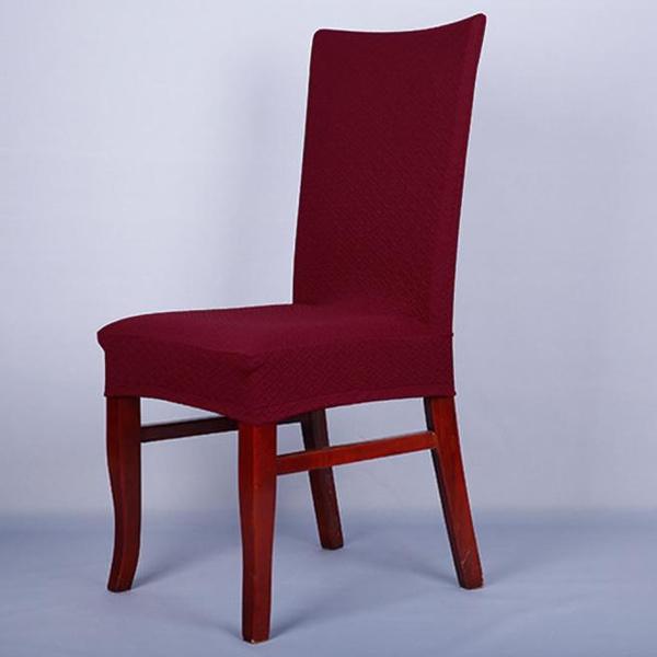 Wish | Weeshop cenando la silla cubre Spandex Strech comedor silla ...