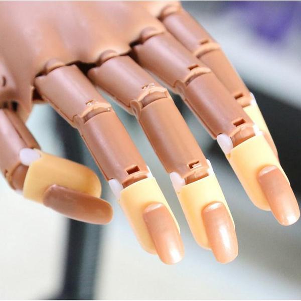 Mama 100pcs Replace False Nails Finger Tips Professional Nail Technician Training Tools