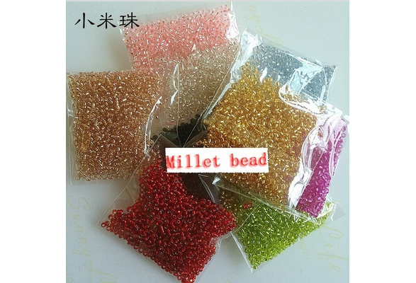 1000pcs wholesale Silver lined glass SEED BEADS 2mm jewelry making multi COLOUR hot