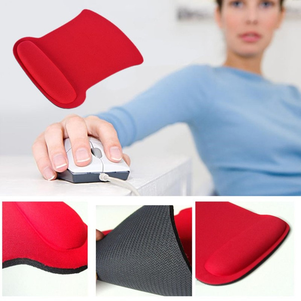 Professional Wrist Rest Support Mouse Mat Gaming Mice Pad for PC Laptop Computer
