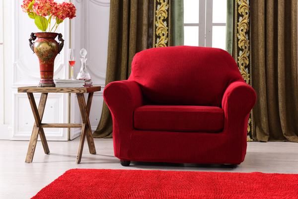 Brilliant Wish 2 Piece Checks Jacquard Polyester Sofa Cover Spandex Inzonedesignstudio Interior Chair Design Inzonedesignstudiocom