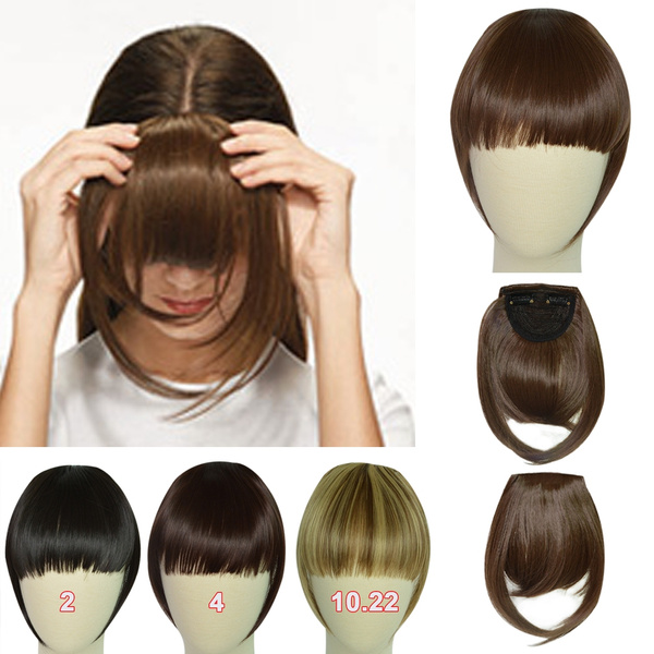 Wish 2017 Synthetic Hairpieces Clip In Bangs Fringe Front Neat