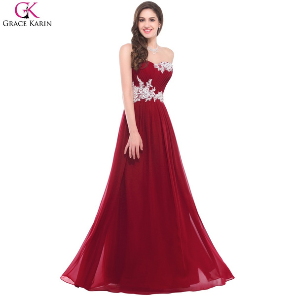 Wish | Elegant Pink Green Light Blue Bridesmaid Dresses Purple Grace ...
