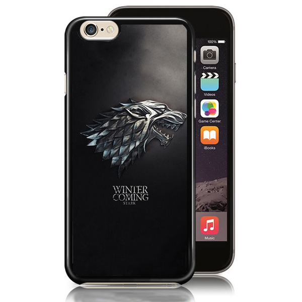 Design Simbolos Das Casas Game of Thrones Hard Plastic Cell Phone Case  Cover for IPhone for Samsung Galaxy Edge Note-Black