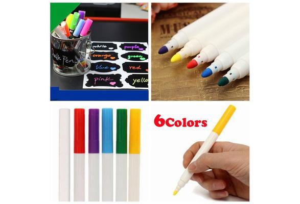 Multicolor Erasable Liquid Chalk Pen