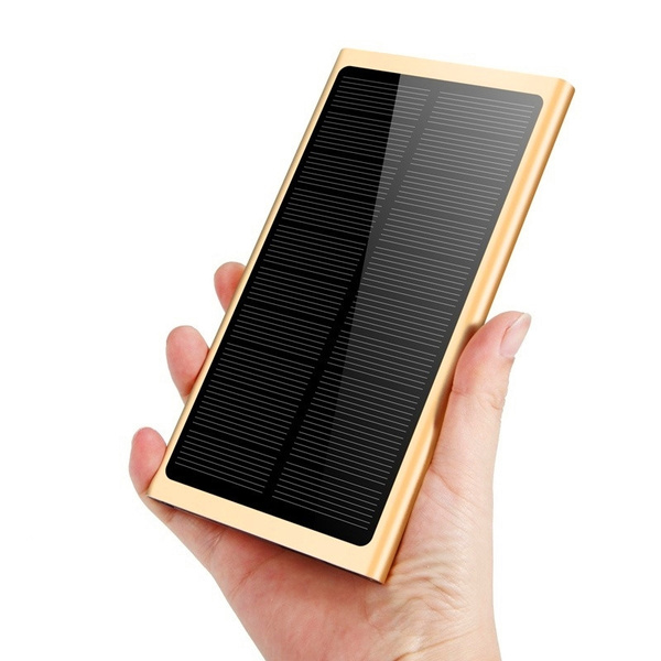 Picture of Large Capacity Solar Charging Treasure Powerbank 50000mah Portable Charger Thin Polymerfor All Mobile Phone6 Colors