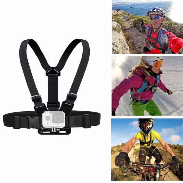 Picture of Xiao Mi Yi Hero 4/3/3+/2 Accessories Chest Belt Action Camera Holder Sport Cam Sj4000 Strap Mount For Gopro Adjustable