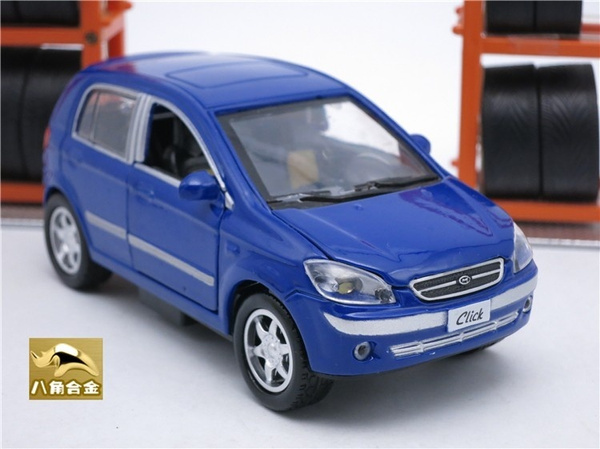 Wish 11 Cm Length Diecast Hyundai Getz Click Model Children Toy