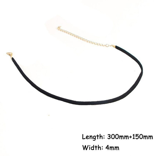 High Quality Black Retro Gothic Velvet Ribbon Collar One Double Three layer Tattoo Choker Necklace Clavicle Chain Necklace Jewelry