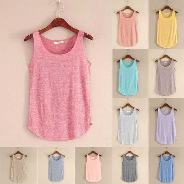 Women Vest, Cotton, Fashion, Tank