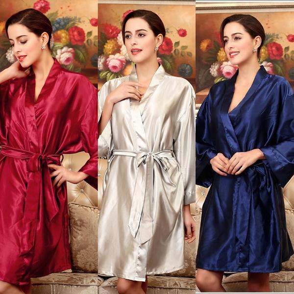 Vintage Bridal Shower Robe Holiday