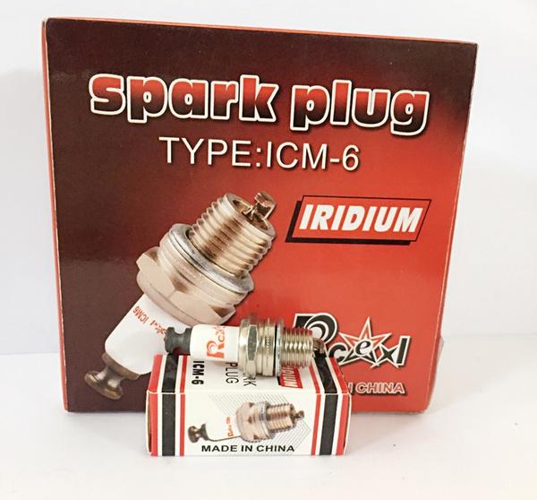 100% high quality popular stores cheap for discount HOT Product Iridium Spark Plug ICM6 2LOT FOR CM6 CM-6 DENSO U20M-U U20MU  CHAMPION UY6 Y82 DT8 DLE30 DLE55 DLE111 DLA56 DLA32