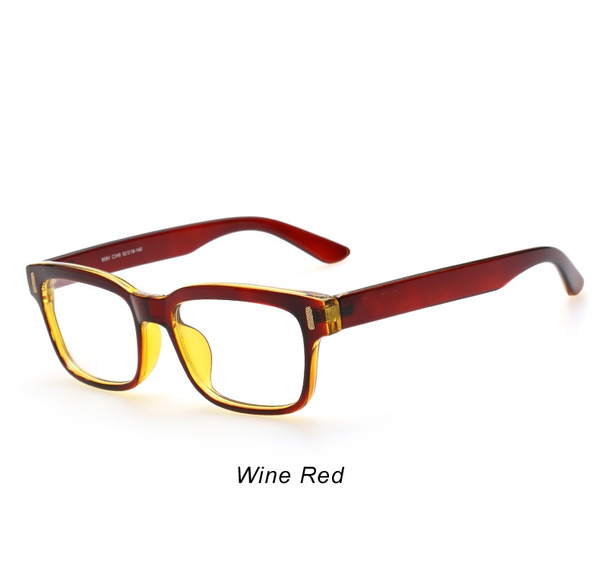 Wish   Korean Fashion Eyeglasses Frames Clear Lens Fake Glasses ...