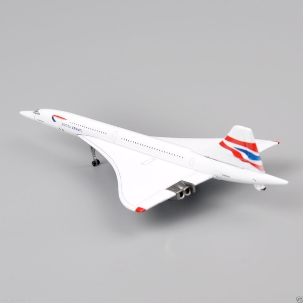 1/400 Airplanes Model GJ Diecast Model Aircraft Gemini Jets G-BOAC British  Airways Concorde Plane Collection Gift