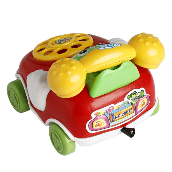Baby Toys Music Cartoon Phone Mobile Educational Developmental Kids Gifts Toy  Random color