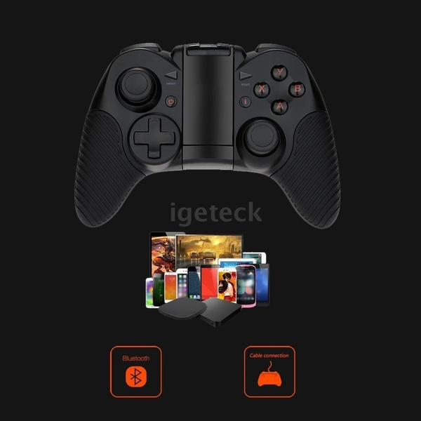 ixV2s 0526 Professional Wireless Bluetooth Gamepad Android 4 0 Bluetooth  3 0 Game Machine Nibiru+HID Modes Dual Analog Sticks Game Console for  iPhone