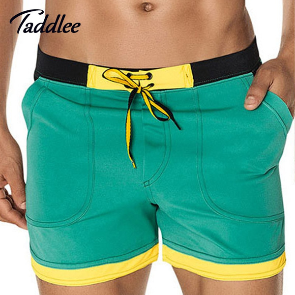 b16e70b9655e3 Taddlee Brand Mens Sexy Swimwear Swimsuits Swim Boxer Board Beach ...
