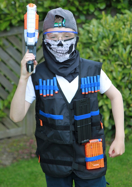 Wish | GFU Tactical Vest Jacket with 12pcs Darts and Protective Goggles Glasses for Nerf Toy Gun N-strike Elite Series & Wish | GFU Tactical Vest Jacket with 12pcs Darts and Protective ...