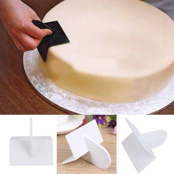Baking Tool Cake Smoother Paddle Decorating DIY Fondant Cake Sugarcraft Polisher Finisher