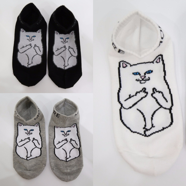 Harajuku Style Print Socks Casual Charactor Socks Unisex Low Cut Ankle Socks