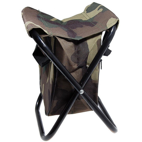 Brilliant New Portable Sillas Camping Camo Folding Chair Camp Stool With Pocket Chair Folding Chair Camping Chair Inzonedesignstudio Interior Chair Design Inzonedesignstudiocom