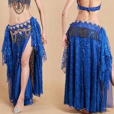 long skirt, chiffon, Egyptian, Dance
