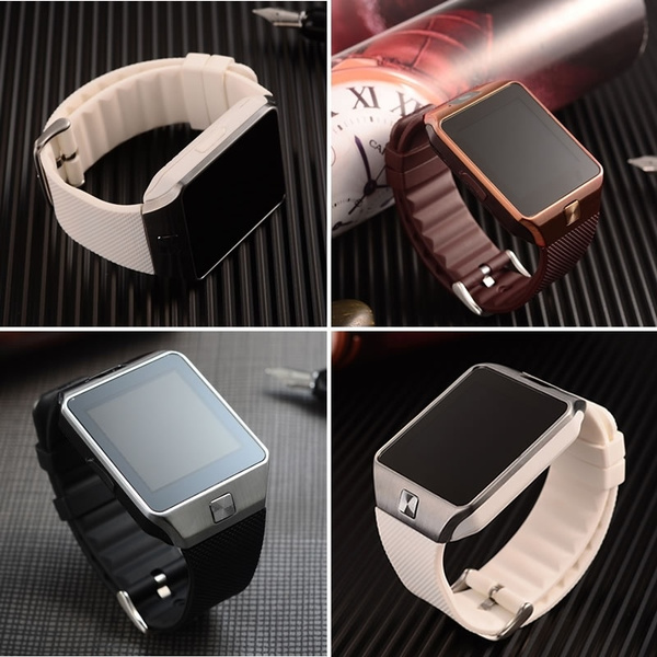 Picture of New Smart Watch With Camera Bluetooth Wristwatch Sim Card Smartwatch For Ios Android Phones Support Multi Languages
