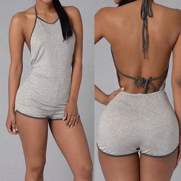 Picture of Summer Playsuit Bodycon Party Jumpsuit Romper Trousers