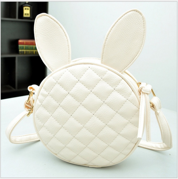 Picture of Summer New Cute Bunny Ears Convenient Purse Leisure Bag Phone Package