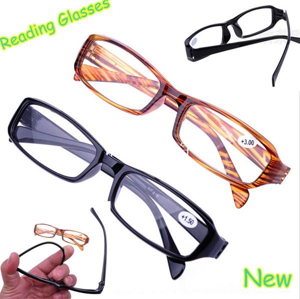 Picture of Men's Women's Fashion Reading Glasses Resin High Definition Eyeglasses