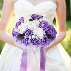 decoration, Flowers, Lace, weddingbouquet