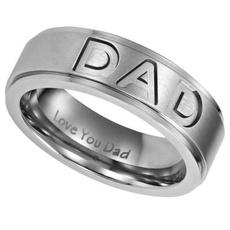 giftforfatherdad, Steel, baguering, Love