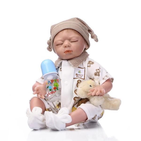 0cf8abaca 52CM 20'' NPK Real Lifelike Silicone Baby Reborn Doll Play House ...
