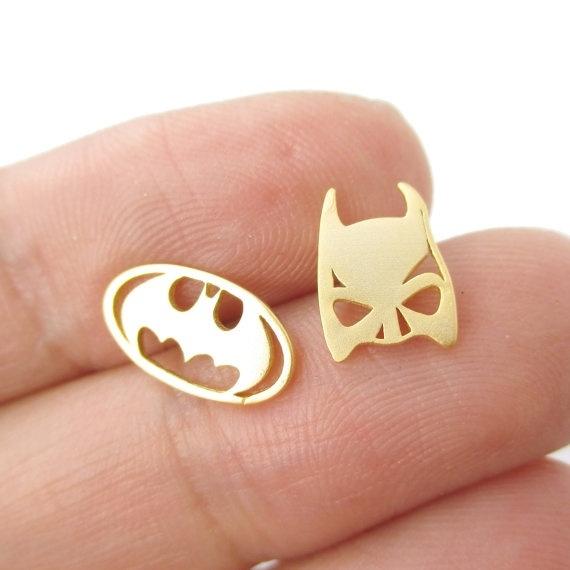 Bat, Fashion, Jewelry, vintage earrings