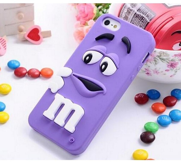 Picture of M Bean Silicone Phone Case For Iphone 4 4s 5 5s 6 6s Plus Samaung Galaxy S4 S5 S6/edge S7/edge Note 3/4/5 J3 J5 J7 G530 G360 A3 A5 A7 Etc.