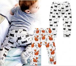 Baby Boy Girls Baggy Harem Pants Toddler Kids SweatPants Joggers Elastic Bottoms