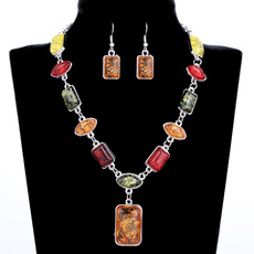 amber, Jewelry Set, ambernecklace, Jewelry