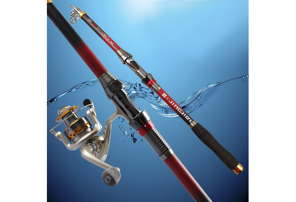 Exclusive Quality Carbon Fiber Telescopic Fishing Rod 2.1/2.4/2.7/3.0/3.6m High Performance Sea Fishing Pole Tackle
