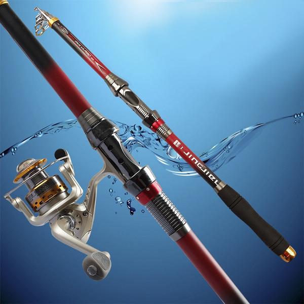 Outdoor, fishingrod, seafishingpole, telescopicfishingrod