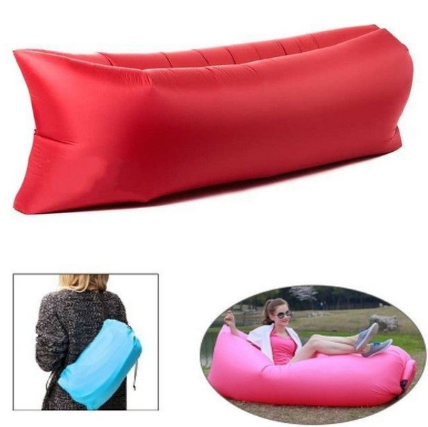 Wish Fashion Gift The Nylon Inflatable Air Lounge Lazy Sofa And