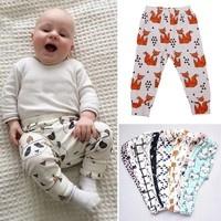 Trousers For Baby Animal Fox Panda Leggings Toddler Cartoon Harem Pants Kids Clothes