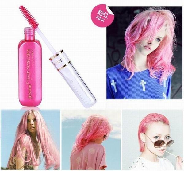 mix color hair ash 4 wish temporary color hair dye mascara nontoxic mix