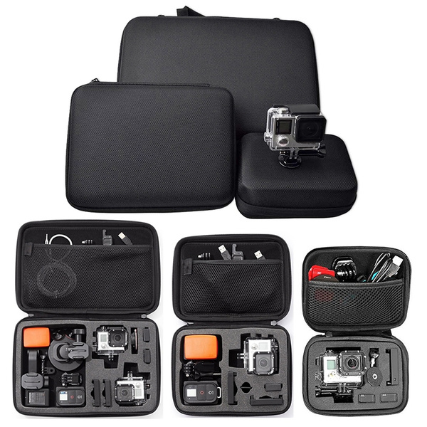 Picture of Super Anti-shock Portable Medium Storage Bag For Gopro And Other Sports Action Camera - Black