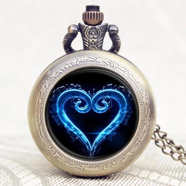 Wish Kingdom Hearts Nobody Emblem Symbol Glass Round Jewelry