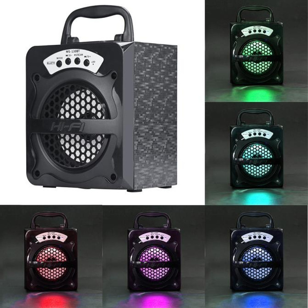 Picture of Bolong Outdoor Bluetooth Wireless Portable Speaker Super Bass With Usb/tf/aux/fm Radio
