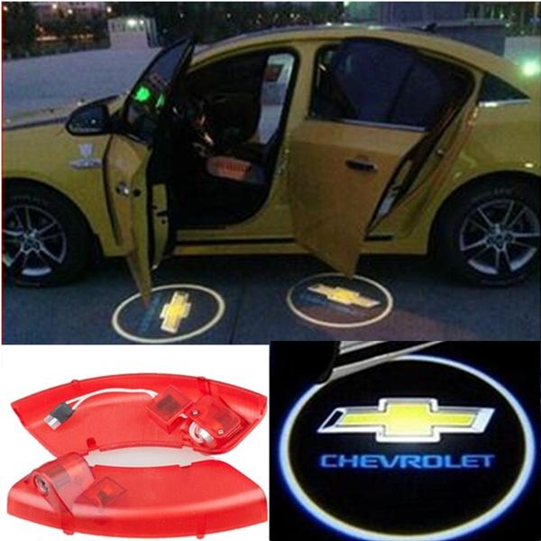 Original Car Styling Led Door Light Replace For Chevrolet Captiva